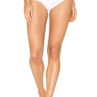 lolli swim Dainty Bikini Bottom in Vanilla | REVOLVE