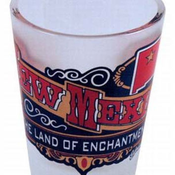 new mexico frosted shotglass- banner Case of 96