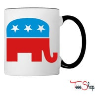 Republican Elephant Coffee & Tea Mug