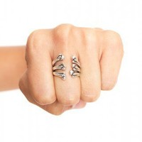 Bone Cage Ring - NASTY GAL