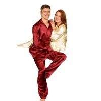 IS-Men Pajama of Lingerie Satin Style 2060