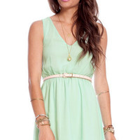 Tiana Chiffon Dress $50