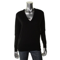 Theory Womens Adrianna Wool Long Sleeves Pullover Sweater