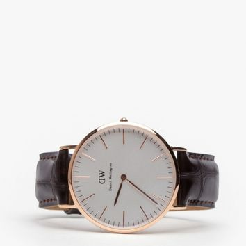 Daniel Wellington Classic York in Rosegold