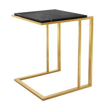 Gold Finish Side Table | Eichholtz Cocktail