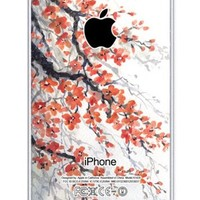 iZERCASE Cherry Blossom iphone 5 case - Fits iphone 5, iPhone 5S T-Mobile, Verizon, AT&T, Sprint and International