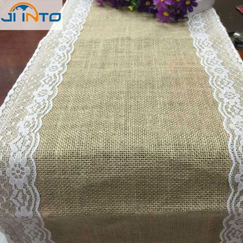 Baby Shower Hot Lovely Vintage Wedding Party Photo Just Married Linen Tablecloth Decorations Free Shipping