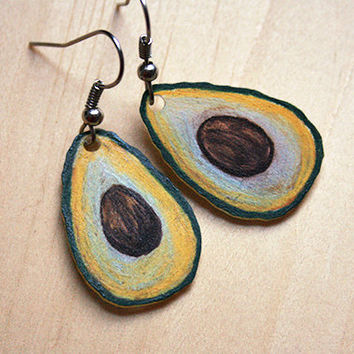 Avocados | earrings