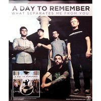 A Day To Remember - Posters - Limited Concert Promo