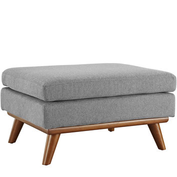 Engage Fabric Ottoman Expectation Gray