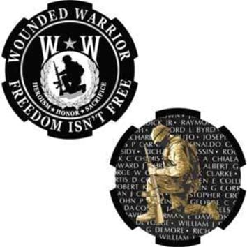 Challenge Coin, Wounded Warrior