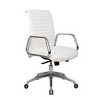 Ox Office Chair Mid Back, White