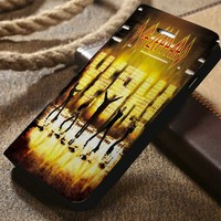 Def Leppard Custom Wallet iPhone 4/4s 5 5s 5c 6 6plus 7 and Samsung Galaxy s3 s4 s5 s6 s7 case
