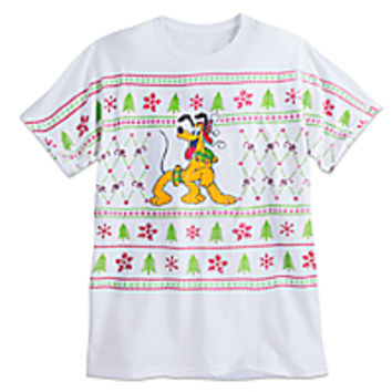 Pluto Holiday Tee for Adults