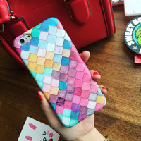 Water-drop Marmaid Skin Cute Case for iPhone