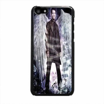 supernatural castiel with wings iphone 5c 5 5s 4 4s 6 6s plus cases