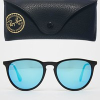 Ray-Ban | Ray-Ban Round Sunglasses With Flash Lens 0RB4171 601/5554 at ASOS