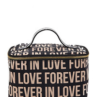 Forever In Love Makeup Bag