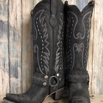 Junk Gypsy by Lane The Vagabond Boots~ Black