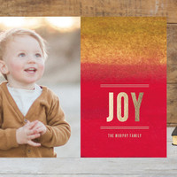 Watercolor & Joy Holiday Photo Cards by aticnomar | Minted