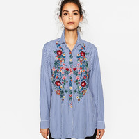 POPLIN SHIRT - NEW IN-WOMAN | ZARA United Kingdom