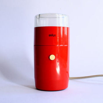 Braun KSM 1 electric coffee grinder /Reinhold Weiss design /60's Germany