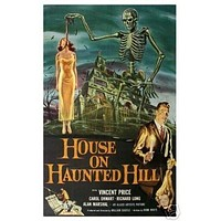 House on Haunted Hill Movie Poster - Rare Vintage