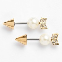 Women's Rebecca Minkoff Reversible Arrow Stud Earrings
