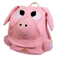 Ecogear Ecozoo Kids Pig Backpack, Pink, One Size