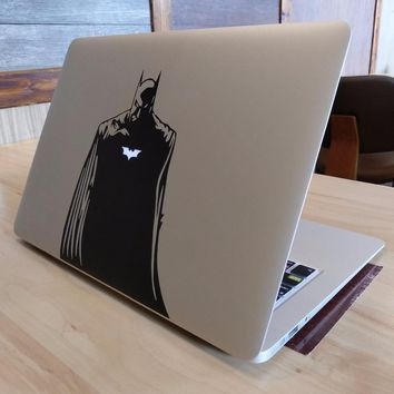 Batman Dark Knight gift Christmas Glowing Batman Vinyl Laptop Sticker for Apple MacBook Pro 13 Air Decal Retina 11 12 15 17 inch Mac HP Mi Dell Surface Book Skin AT_71_6