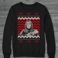 Twin Peaks - Log Lady - Ugly Christmas Sweater