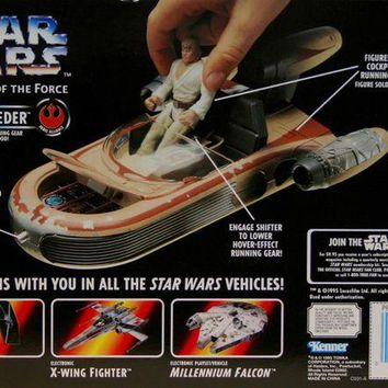 ONETOW Star Wars Power of the Force Landspeeder Vehicle