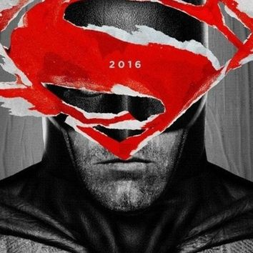 Batman V Superman: Dawn Of Justice (2016) Movie Poster Print On Silk Wall Art Home Decoration 24x36 Inch B1