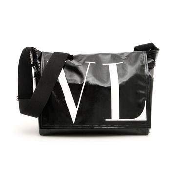 Canvas Messenger Bag by Valentino