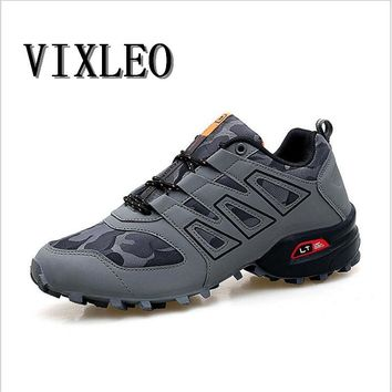 VIXLEO New Running Shoes for Men Trail Shoes Sport Men Sneakers Jogging Shoes Tennis Speed 3 Cross Athletic Shoes Size 39-46