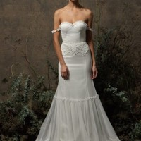 Freya Tulle Lace Gown