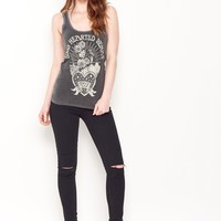 Good Hearted Woman - Vintage Black Lace Tank