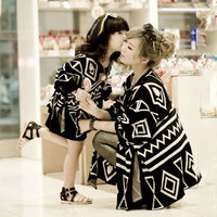 2016 Matching Mother Daughter Clothes Family Look Family Matching Clothes Parent-child Outfit  Ma e Filha Mommy and Me Shirts