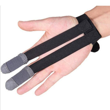 Outdoor Archery 2 Finger Protector Glove