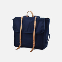 Women&men  Canvas Leather  Rucksack Hiking Bag (L05)