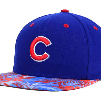 Chicago Cubs MLB Floral Viz 9FIFTY Snapback Cap