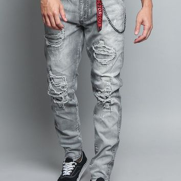 Stone Washed Track Jeans DL1175 - A4H