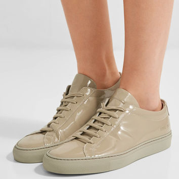 Common Projects - Original Achilles patent-leather sneakers