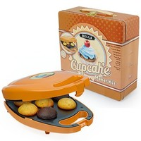 Bella Housewares | Mini Cupcake Maker Tin Box Set in Treat Kits and Treat Makers & Kits and kitchen appliances, colorful appliances, toasters, juicers, blenders