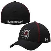 South Carolina Gamecocks Under Armour 2014 Sideline Huddle II Performance Flex Hat – Black