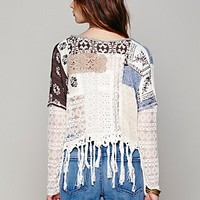 Free People Patched Pullover