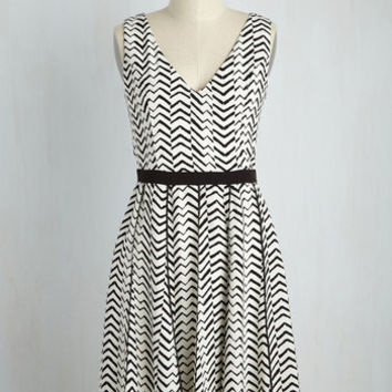 Set the Record Date Dress | Mod Retro Vintage Dresses | ModCloth.com