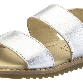 Old Soles Girl's Shuk Leather Sandals, Silver