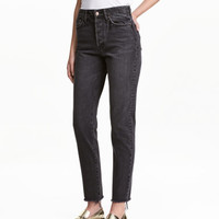 H&M Vintage High Cropped Jeans $39.99