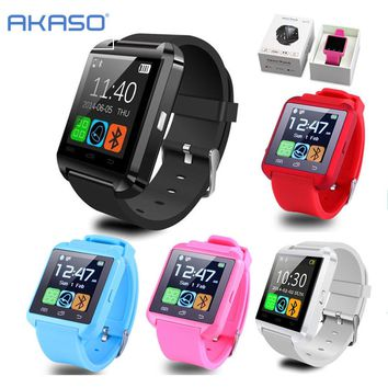 WLNGWEAR Smart Bluetooth Watch WristWatch sport digital U8
